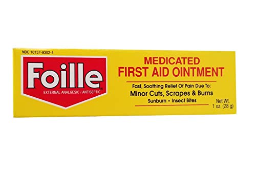 Foille Medicated First Aid Ointment 1 oz (Pack of 5)