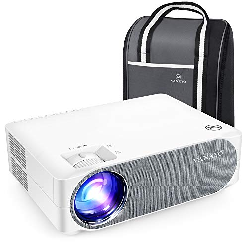 VANKYO Performance V630 Native 1080P Full HD Projector, 300' LED Projector w/ ±45° Electronic Keystone Correction, Compatible w/ TV Stick, HDMI, Laptop, Smartphone for Home/Business Use
