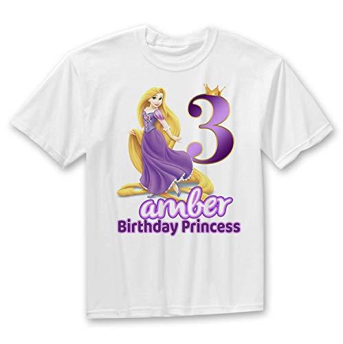 Rapunzel Birthday Shirt, Tangled Birthday Shirt