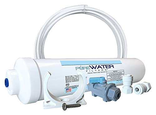 Inline Water Filter Kit for Ice Makers & Refrigerators