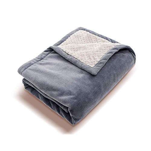 PerfectPrime HP0810, Soft Fleece Portable QC2.0/3.0 USB Power Heating Throw, Shoulder Blanket, Temperature Setting Controller for Winter Traveling, Camping, Hiking or Wheelchair