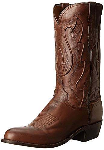 Lucchese Bootmaker Men's Cole-tan Ranch Hand Riding Boot, 9.5 D US