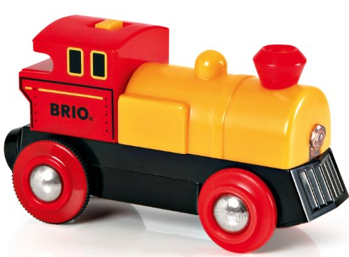 BRIO World - 33594 Two-Way Battery-Operated Engine   Train Toy for Kids Ages 3 and Up