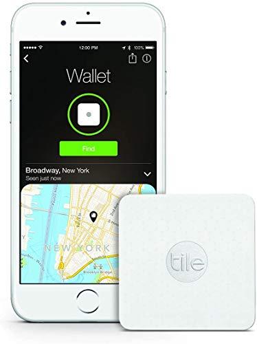 Tile Slim - Phone Finder. Wallet Finder. Laptop Finder, Skateboards - Non-Retail Packaging - 1 Pack