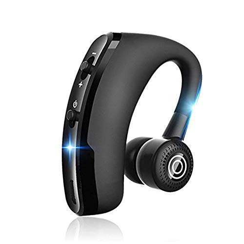 V9 Handsfree Business Wireless Bluetooth Headset with Mic Voice Control Headphone for Drive Connect with 2 Phone