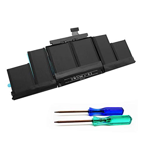 Puredick A1417 A1398 Battery for MacBook Pro Battery 15 inch Retina Mid 2012 Early 2013, Fit for MacBookPro 10,1 2012 2013 MacBook Pro Battery A1398 [11.26V/99Wh] - (EMC 2512 or 2673)