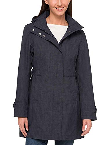 Kirkland Signature Ladies Trench Coat (Small, Charcoal)