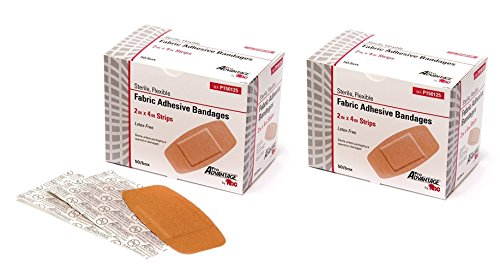 ProAdvantage P150125 Flexible Large Adhesive Bandages 2' x 4' (Pack of 100)