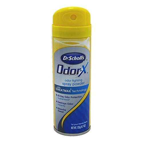 Dr. Scholl's Odor Destroyer Deodorant Spray 4.7 oz. - Buy Packs and SAVE (Pack of 2)