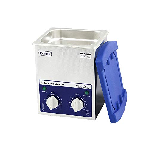 Drizzle Ultrasonic Cleaner 2L Heater Timer Professional Ultrasonic Cleaner Jewelry Machine with Heater Basket for Cleaning Eyeglasses Watches Rings Necklaces Denture and More