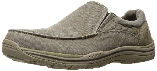 Skechers Men's Expected Avillo Relaxed-Fit Slip-On Loafer,Khaki,10 D US