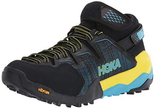 HOKA ONE ONE Sky Arkali Hiking Shoe - Men's Black/Cyan/Citrus 10.5
