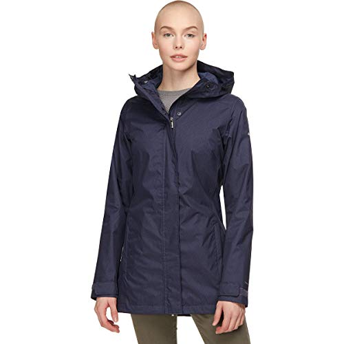 Columbia Splash A Little II Rain Jacket Nocturnal Titch Diamnd Print LG