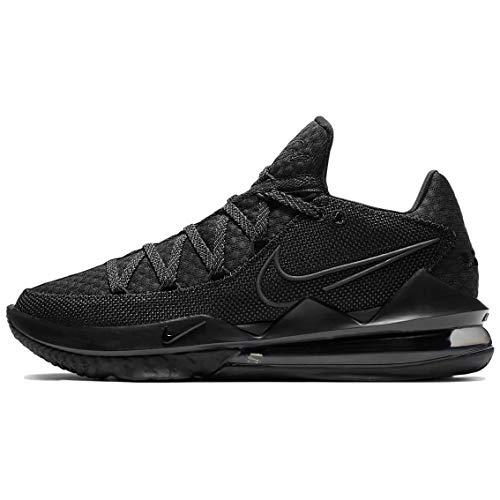 Nike Lebron Xvii Low Basketball Shoes Mens Cd5007-003 Size 10.5 Black/Black/Black