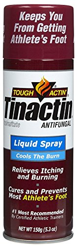 Tinactin Antifungal Liquid Spray for Athlete's foot-5.3 oz.