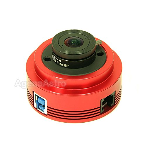 ZWO ASI120MM-S 1.2 Megapixel USB3.0 Monochrome Astronomy Camera for Astrophotography