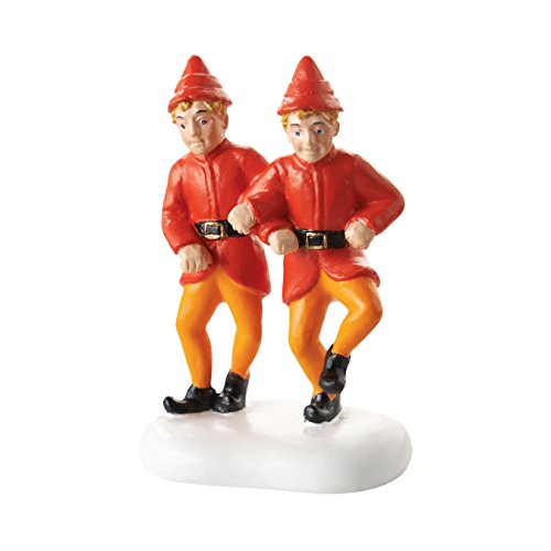 Department 56 Elf the Movie Village Twin's Happy Dance Accessory Figurine, 2.25'