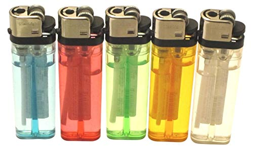 Cigarette Lighter Disposable Classic Lighters - 10 Pack Lot