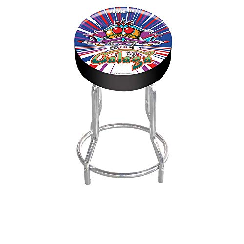Arcade1Up Galaga Adjustable Stool, 21.5' to 29.5' - Electronic Games