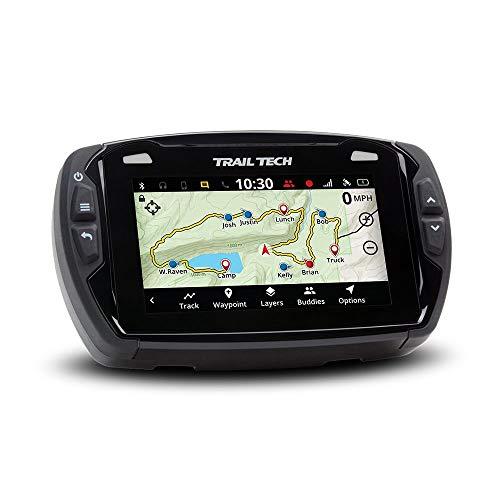 Trail Tech Voyager Pro 922-125 UTV GPS 4-inch Touch Screen, Fits All, Black, Universal utv