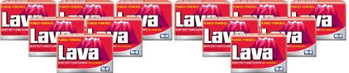 Lava 10185 Heavy-Duty Hand Cleaner with Moisturizers, 5.75 oz. (Pack of 12)
