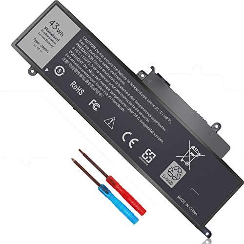11.1V 43Wh GK5KY Battery Compatible with Dell Inspiron 11 3147 3148 3152 3157 Inspiron 13 7353 7352 7347 7348 7359 Inspiron 15 7558 7568 Series P20T 92NCT 4K8YH 04K8YH 092NCT 451-BBKK Laptop Battery