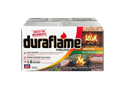 Duraflame 2.5lb 1.5-hr Firelog, 6 pack (00625)