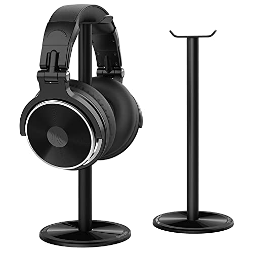 OneOdio Wired Headphones Studio Monitor & Mixing DJ Stereo Headsets with Stand for AMP Computer Recording Phone Piano Guitar Laptop - Black