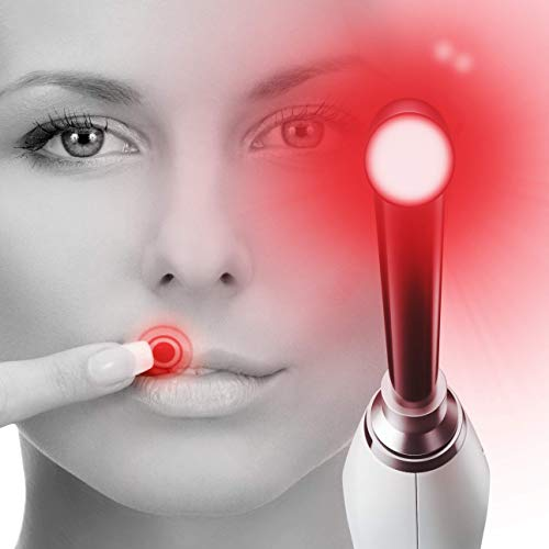 Luminance RED - Clinically Proven Cold Sore Treatment - FDA Cleared Light Therapy Laser Device to Remedy & Prevent Oral Herpes and Fever Blisters