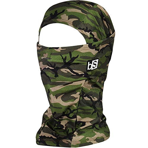 BLACKSTRAP Hood Balaclava Face Mask, Dual Layer Cold Weather Headwear for Men and Women, Army Olive
