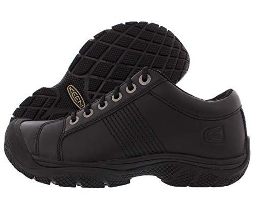 KEEN Utility mens Keen Utility Men's Ptc Oxford Shoe,black,10.5 M Us Work Shoe, Black/Black, 10.5 US