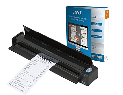 Fujitsu ScanSnap iX100 Mobile Scanner Powered with Neat, 1 Year Neat Premium License
