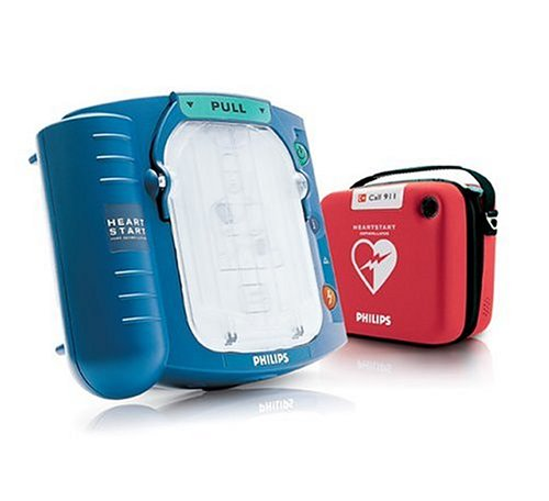 Philips HeartStart Home AED Defibrillator with Slim Carry Case