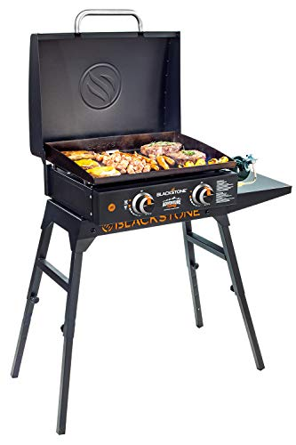 Griddle Blackstone Adventure Ready 22' with Hood, Legs, Adapter Hose