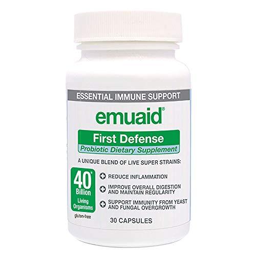 Emuaid First Defense Probiotic 30 Capsules