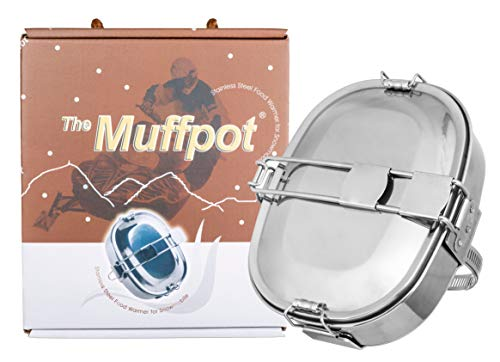 The Original MuffPot Exhaust Food Warmer for Motorsports Vehicles. Snowmobile, ATV, UTV, and Motorcycles