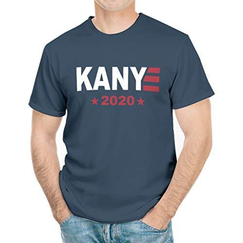 PrettyGril Kanye 2020 Vote Kanye for President T-Shirt Gift Tee white4 x-Large Dark Blue