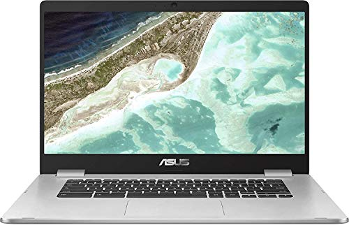 (Renewed) ASUS Chromebook C423 14' Laptop Computer for Business Student, Intel Celeron N3350 up to 2.4GHz, 4GB DDR4, 64GB eMMC, 802.11AC WiFi, Bluetooth, USB Type-C, Chrome OS, SPMOR MousePad