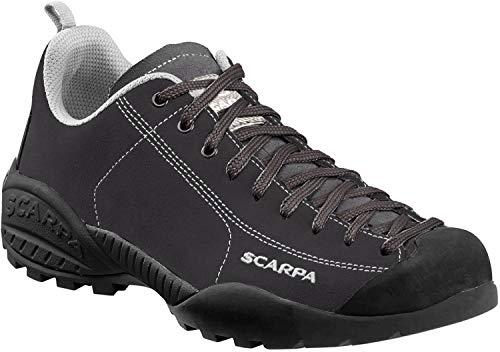 SCARPA Men's Mojito Casual Shoe Sneaker, Black, 8-8.5