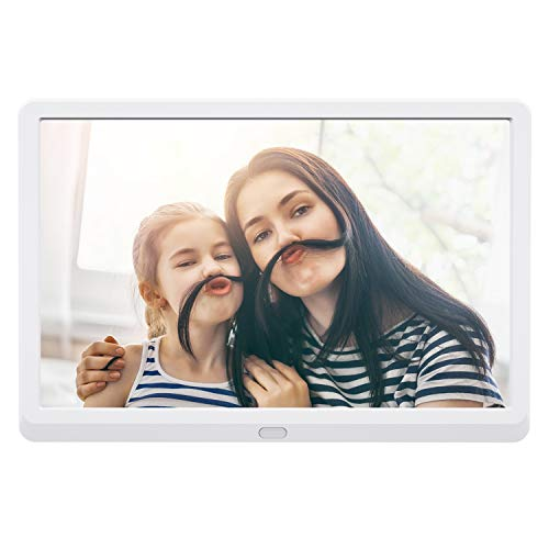 Atatat 10 inch Digital Picture Frame with 1920x1080 IPS Screen Digital Photo Frame Adjustable Brightness, Photo Deletion,1080P Video, Music,Slideshow,Remote,Auto Rotate, Support 128GB SD Card and USB