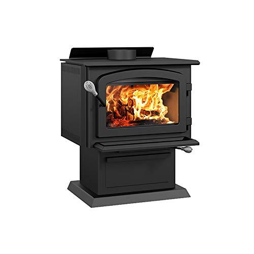 Drolet Blackcomb II Medium 2020 EPA Certified Wood Stove - 60,000 BTU – 1,800 sq.ft., Model# DB02811