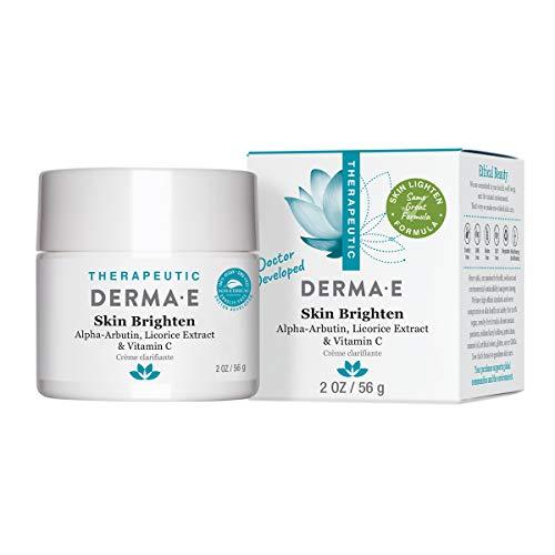 DERMA E Skin Brightening Cream, 2 oz