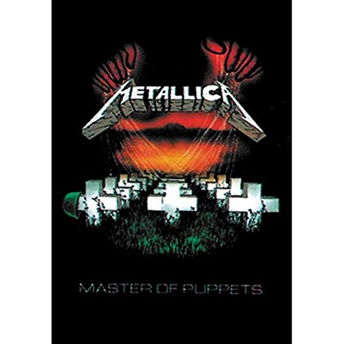 Cyberteez Metallica Master of Puppets Tapestry Cloth Poster Flag Wall Banner 30' x 40' Black