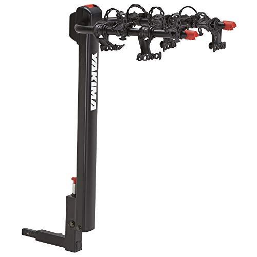 YAKIMA, DoubleDown 4 Hitch Mount Tilting Bike Rack, 4 Bike Capacity