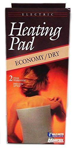 Mastex 500 Dry Heating Pad for Overseas Use only 220/240 Volt (Will Not Work in The USA)