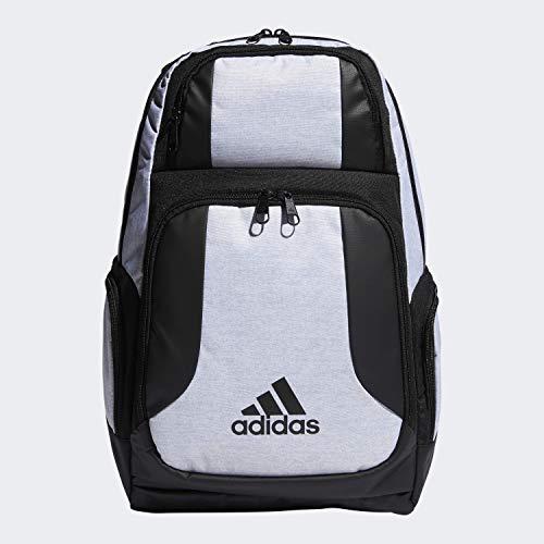 adidas Unisex Strength Backpack, White Jersey/Black, ONE SIZE