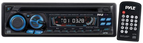 Pyle PLCD73M AM/FM Car Radio/CD Player with Full Detachable Front Panel