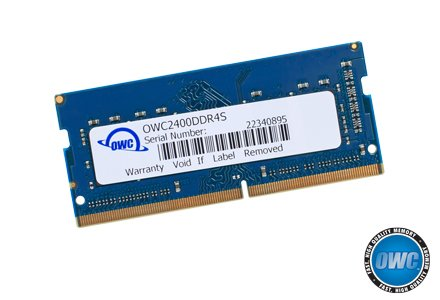 OWC 16GB (2 x 8GB) 2400MHZ DDR4 SO-DIMM PC4-19200 Memory Upgrade for 2017 iMac 27 inch with Retina 5K Display