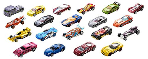 Hot Wheels 20-Car Gift Pack Assorted 116 scale Toy Vehicles Great Gift for Kids and Collectors 3 to 93 years old Instant Collection for Beginners Perfect for Party Favor Giveaways