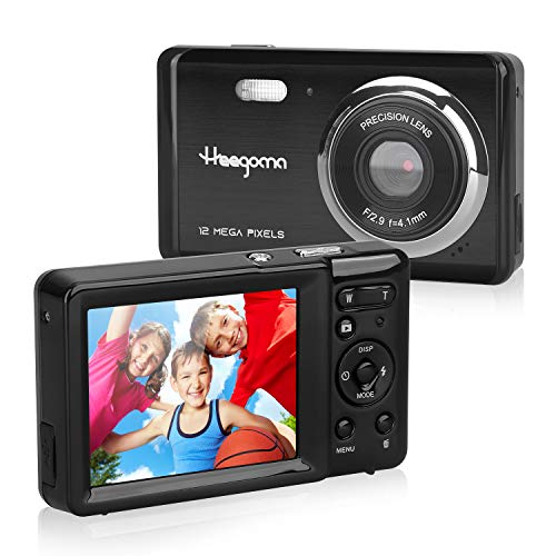 HD 1080P Digital Camera with 2.8' TFT Screen,Rechargeable Point and Shoot Camera,Video Camera Compact Portable Cameras for Kids, Beginner,Students,Teens with 8X Digital Zoom